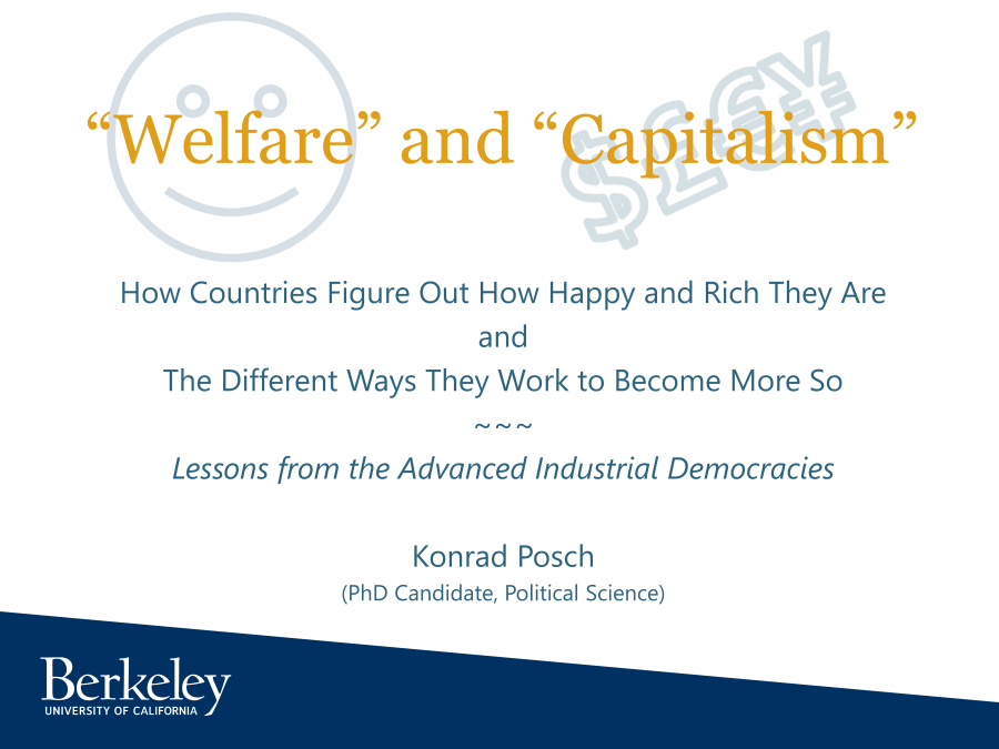 Welfare & Capitlalism Title Slide
